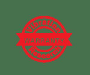 Vibration Research Lifetime Hardware Warranty