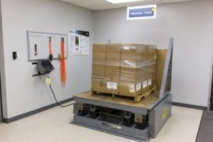 Package vibration testing