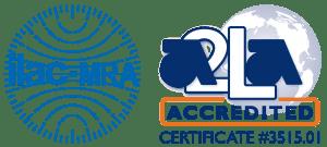 ILAC MCRA A2LA Certified