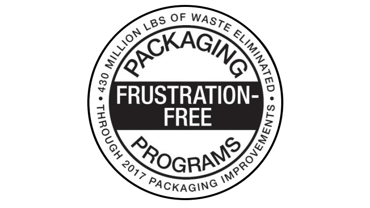 Frustration-Free Packaging (FFP) certification
