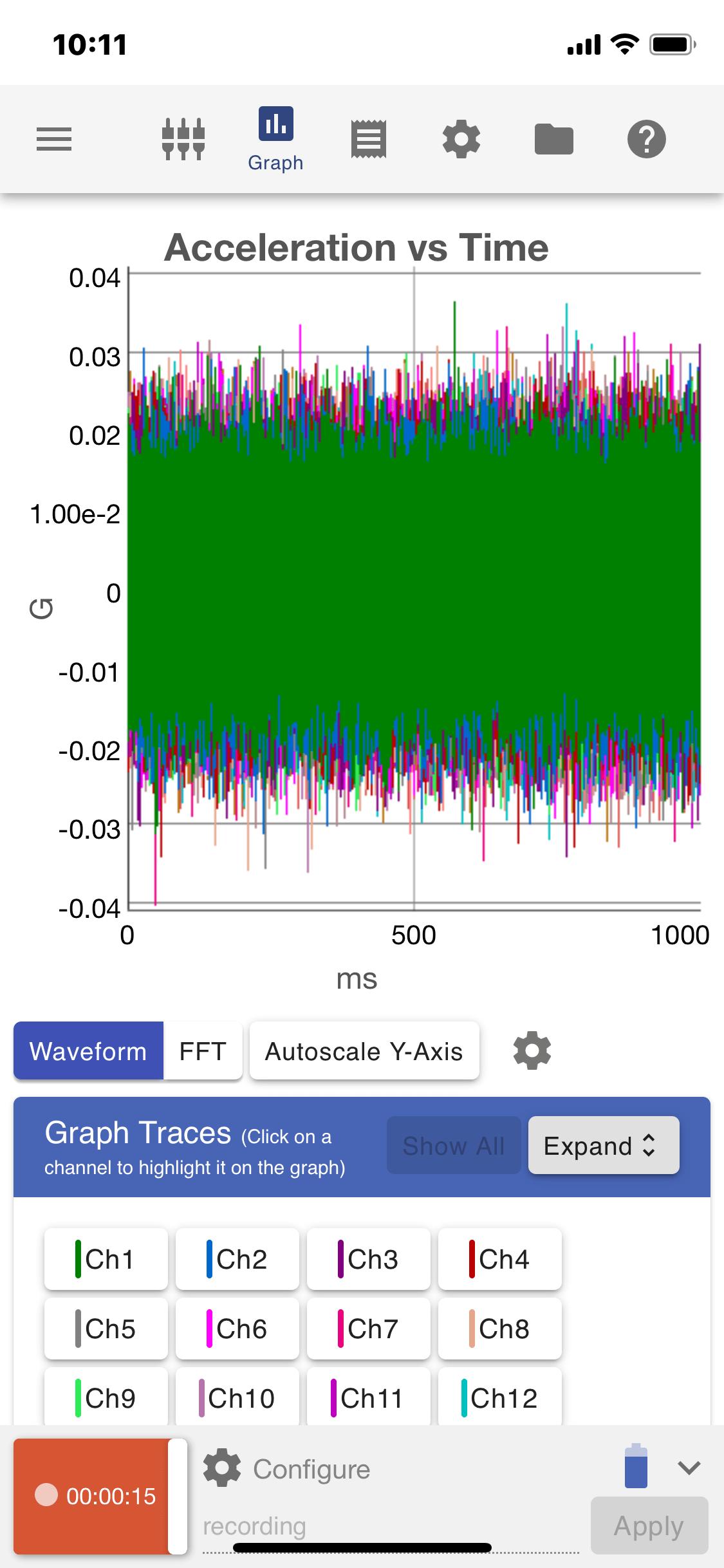 VR Mobile Graph