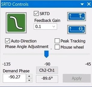 VibrationVIEW SRTD offers phase tracking and peak tracking