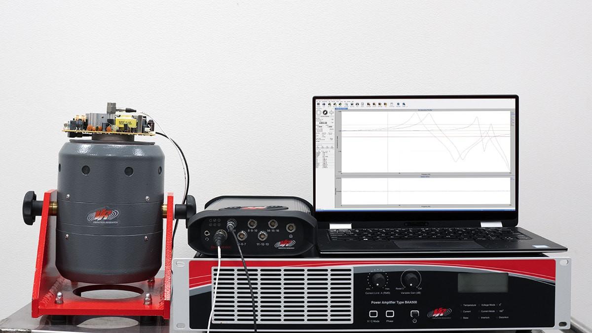 Vibration Research controller setup