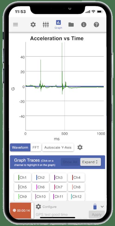 VR Mobile screenshot on smartphone