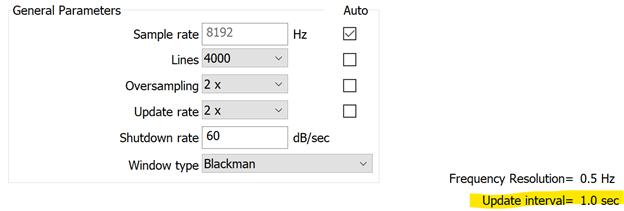 Update interval random test settings