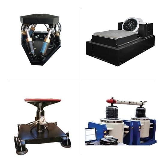 Large electrodynamic and servo hydrolic shakers